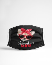 Chihuahua Mom Sunglasses Cloth face mask aos-face-mask-lifestyle-22