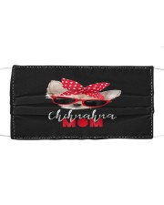Chihuahua Mom Sunglasses Cloth face mask thumbnail