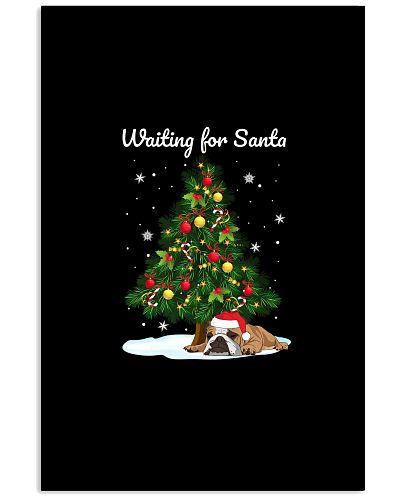 Waiting For Santa Bulldog