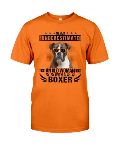 Never Underestimate An Old Woman With A Boxer