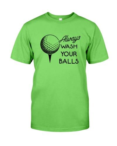 ALways wash your balls golf fun