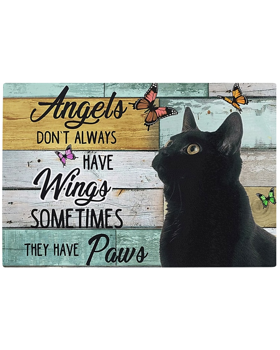 Angels Don't Always have wings Rectangle Cutting Board