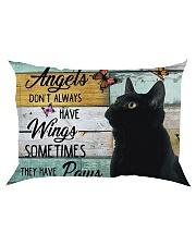 Angels Don't Always have wings Rectangular Pillowcase thumbnail