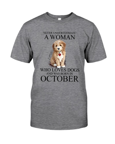 Woman Loves Dogs Born In October