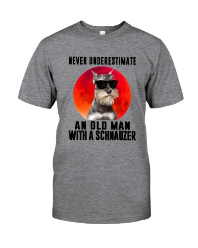 Never Underestimate An Old Man With A Schnauzer