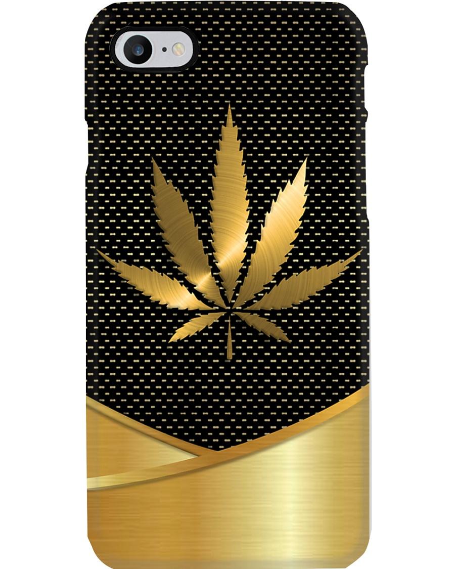 GOLDEN CANNABIS Phone Case