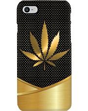 GOLDEN CANNABIS Phone Case i-phone-7-case