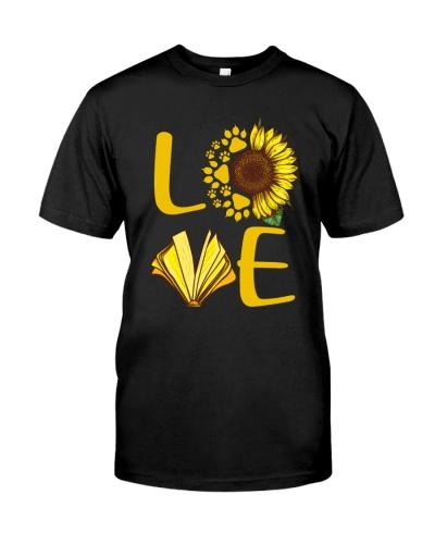 Love Cat Book Sunflower