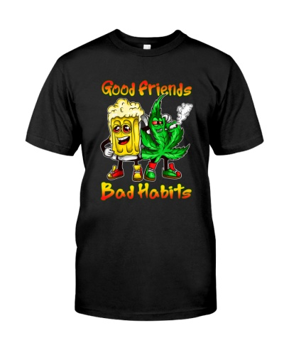 Good friends bad habits