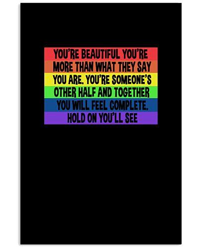 You're Beautiful You're More Than