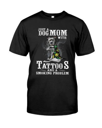 Dogmom with tatoo and smoking problem