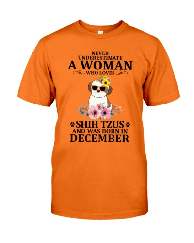 A Woman Who Loves Shih Tzus December