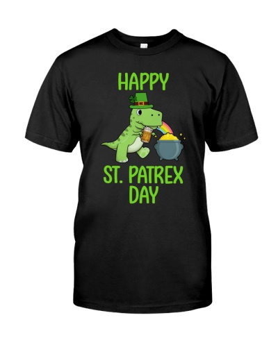 Happy St Pat T-rex Day