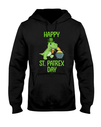 Happy St Pat T-rex Day