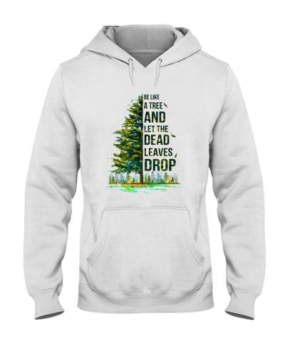 Let dead leaves drop like tree