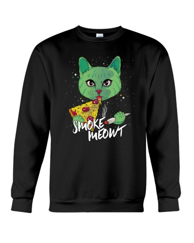 Smoke Meowt Weed Pizza Cat