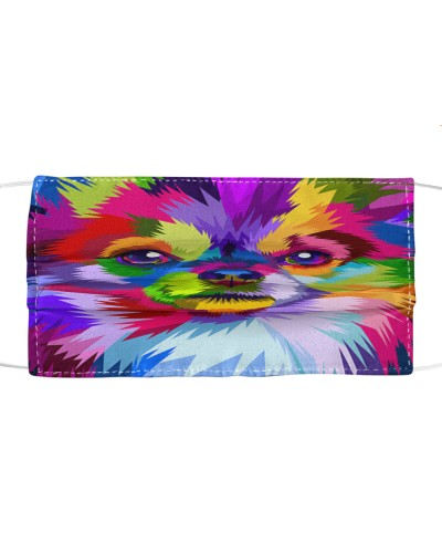 Chihuahua colorful face