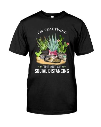 Cat Plant Social Distancing