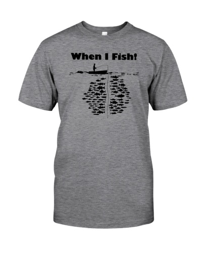 Funny fishing fishes