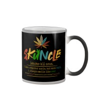 Funny Skuncle smell like weed definition stoner Color Changing Mug thumbnail