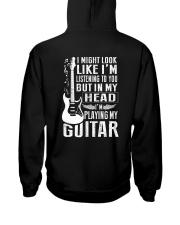 I'm Playing My Guitar Hooded Sweatshirt thumbnail