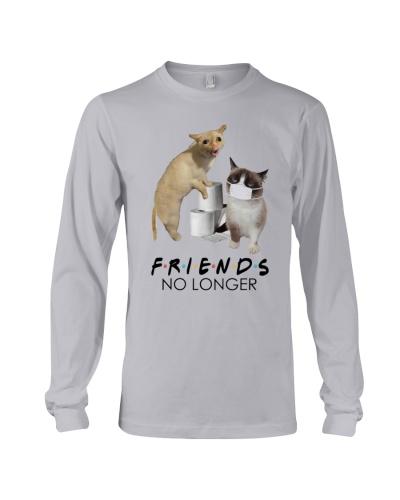 Cat Covid Friends No Longer