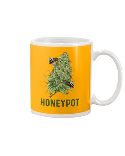 Funny Honeypot bee cannabis lovers