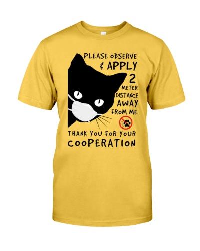 cat-ml-ap-2720-06 Black Cat Away From Me