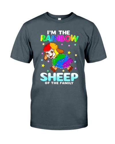 I'm The Rainbow Sheep of the Family