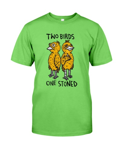 Funny two birds one stoned