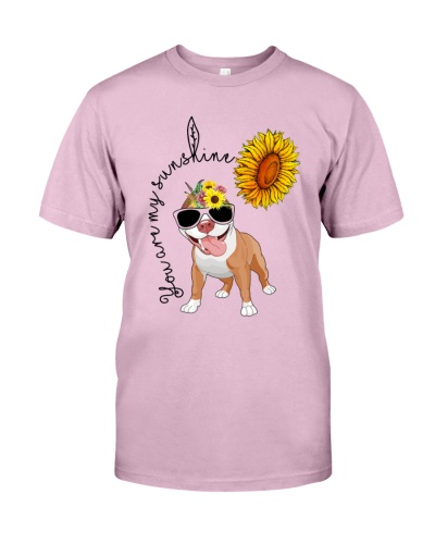 You Are My Sunshine Sunflower PIT BULL