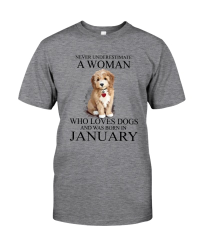 Woman Loves Dogs Born In January