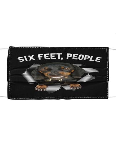 Six Feet People Dachshund