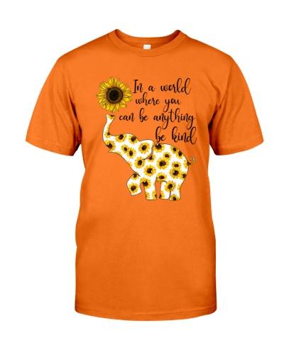 Sunflower Be Kind Elephant