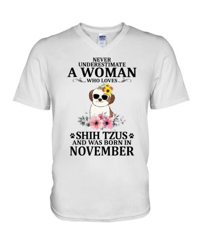 Never Underestimate Shih Tzus November
