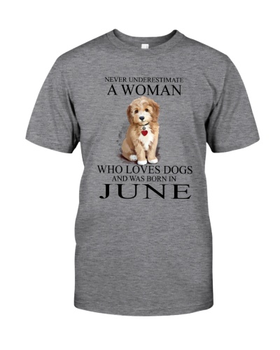 Woman Loves Dogs Born In June