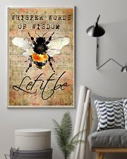Let It Bee Peace Sheet Music 11x17 Poster lifestyle-poster-1