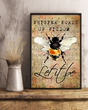 Let It Bee Peace Sheet Music 11x17 Poster lifestyle-poster-3