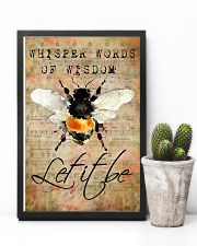 Let It Bee Peace Sheet Music 11x17 Poster lifestyle-poster-8