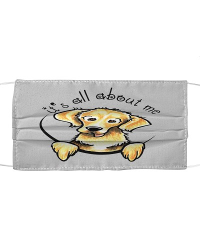 Its all about me Golden retriever