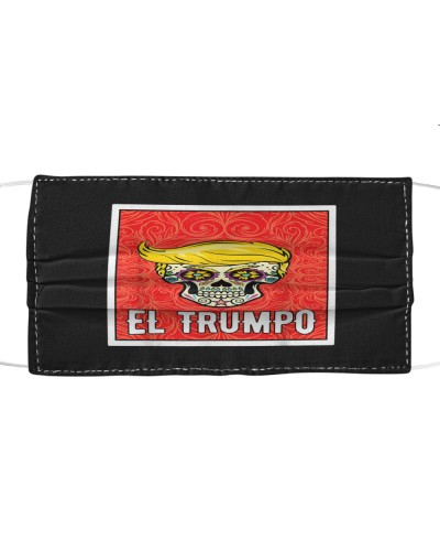 Day Of The Dead Gift El Trumpo Sugar Skull