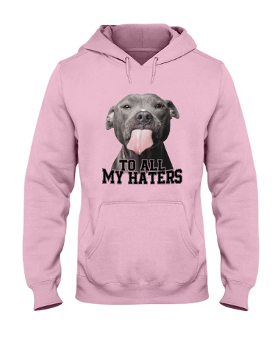PIT BULL - TO ALL MY HATERS - BEST SHIRT EVER