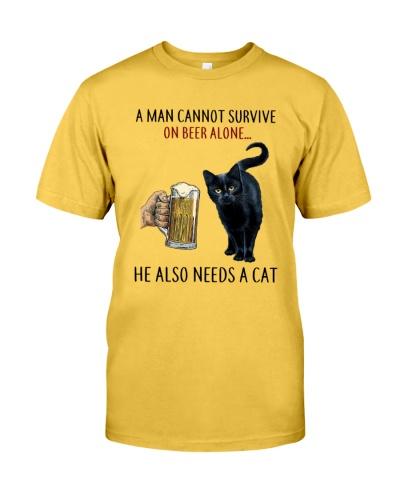 He also needs a cat