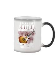 Play The Guitar Mug Color Changing Mug thumbnail