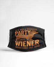 Weiner Dog Cloth face mask aos-face-mask-lifestyle-22