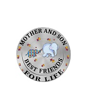 Mother and Son Best Friends For Life Circle Magnet thumbnail