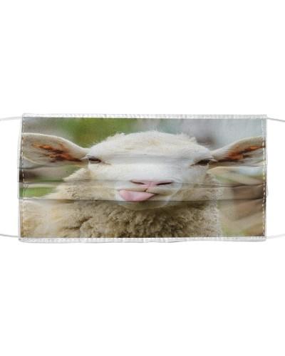 Funny sheep farm animal