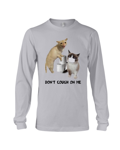 Cat Covid Dont Cough On Me