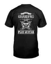 Grandpas Play Guitar Classic T-Shirt back