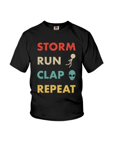 Storm Run Clap Repeat